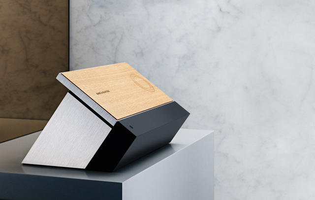 Bang & Olufsen's wooden tablet