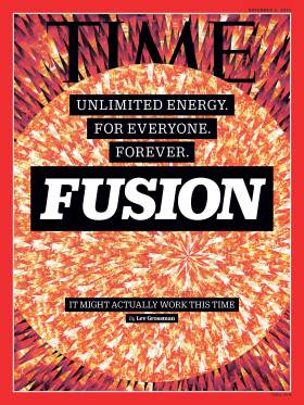 Fusion on the cover of Time Magazine